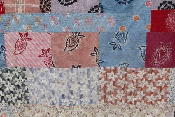 Double Sided Patchwork Quilt | Jen Jones welsh Quilts and Blankets : double patchwork quilt - Adamdwight.com