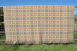 res_overall_of_back_of_yellow_and_brown_tapestry_blanket